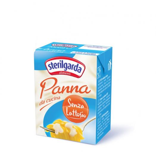 Вершки кулінарні  без лактози (0,1%) 200мл 23% ТМ Sterilgarda Alimentari