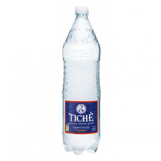 Вода мінеральна газована 1,5л TM Tiche