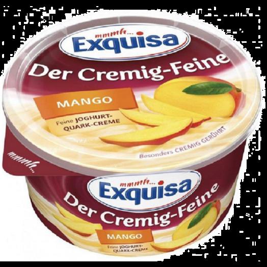 """Сирний десерт манго """"Creamy-Delicious"""" 3.5% 470гр TM Exquisa"""