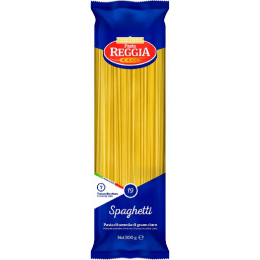 Макаронні вироби Spaghett №19 500г ТМ Reggia