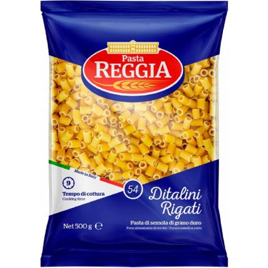 Макарони Pasta Ditali rigati №54 500г ТМ Reggia