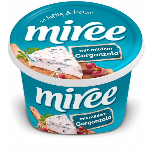 Сир вершковий з Лососем та горгонзолой 66% 150г ТМ Miree