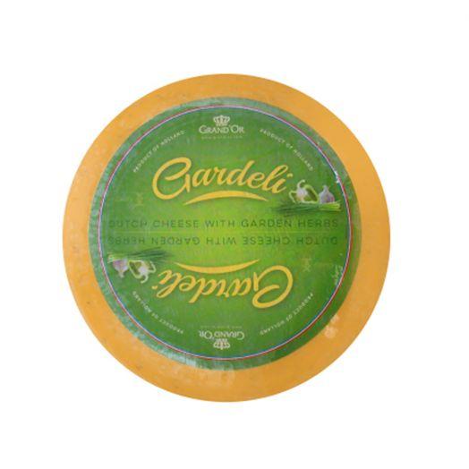 Сир Гауда з зеленими травами 50% TM Gardeli, 100г
