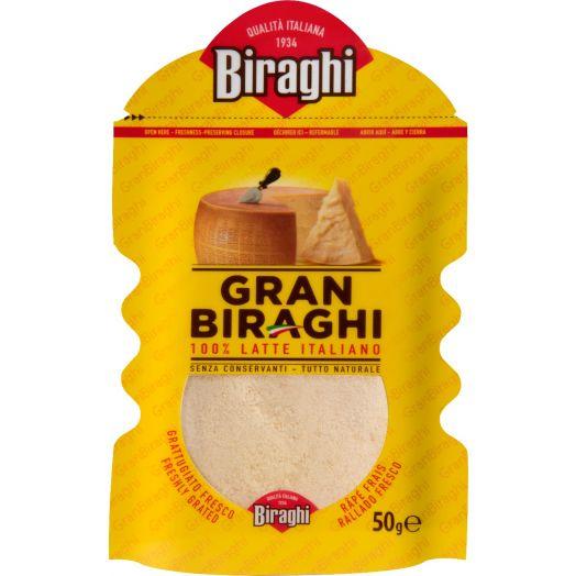 Сир тертий Гран Бірархі тертий 50г ТМ Biraghi