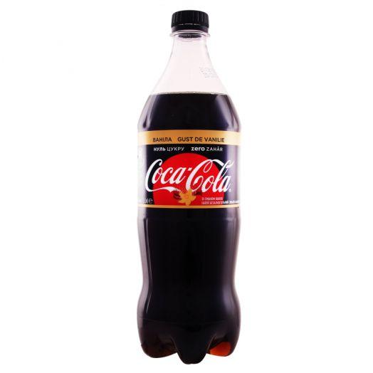 Кока-кола ЗЕРО Ваніла 1л