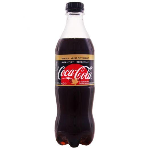 Кока-кола ЗЕРО Ваніла 0,5л