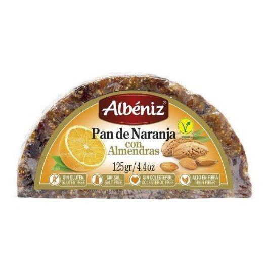 Іспанський хліб Апельсиново-мигдальний 125г ТМ Albeniz