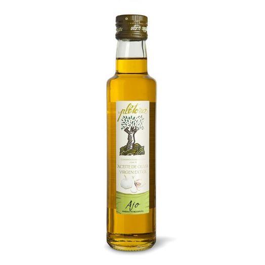 Олія оливкова Extra Virgin з ароматом часнику ТМ Plёtora 250мл.