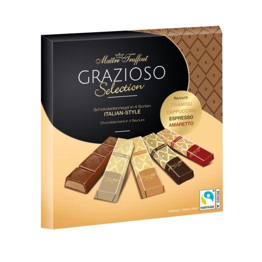 Шоколад Grazioso італійський стиль 200г ТМ Maître Truffout