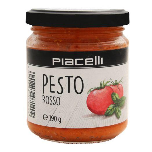 Соус песто червоний з томатами 190г ТМ Piacelli