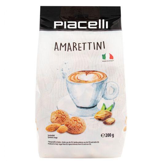 Печиво мигдальне Амареттіні 200г ТМ PIACELLI