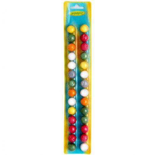 Жувальна гумка Кольорові кульки 28шт 70г ТМ Woogie