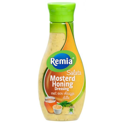 Соус- дрессінг салатний з гірчицею та медом ТМ Remia 250мл.