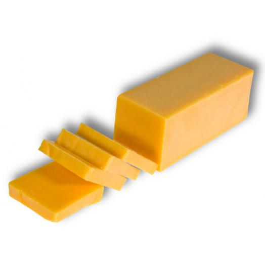 Сир Чедар червоний 48% 100г ТМ Milkobel