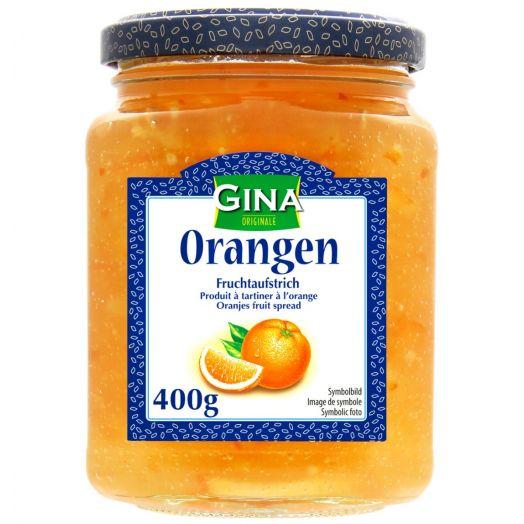 Джем фруктовий Апельсин 400г ТМ Gina