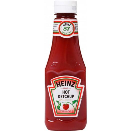 Кетчуп пікантний 342г TM Heinz