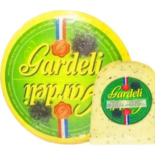 Сир Гауда з чорним перцем 50% 100г ТМ Gardeli