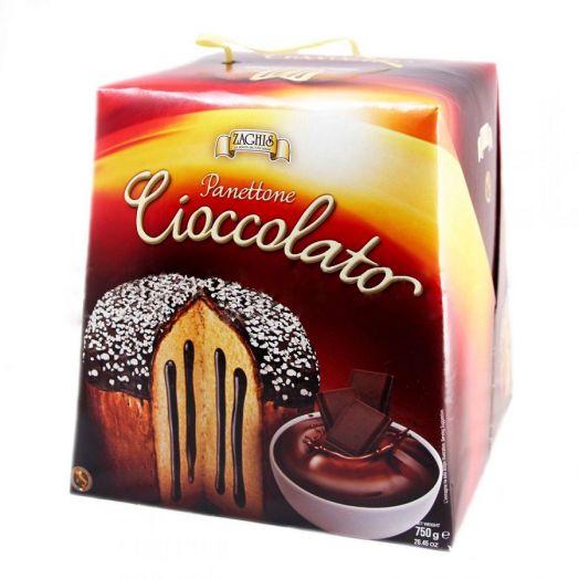 Кекс Панеттоне з шоколадним кремом 750г ТМ Zaghis