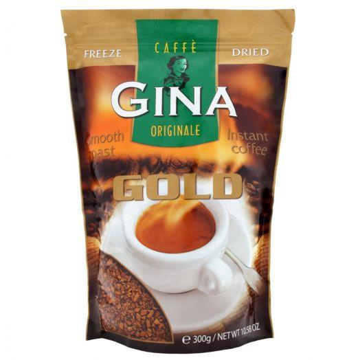 Кава розчинна Gold 300г ТМ GINA
