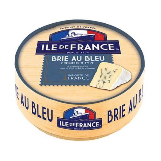 Сир м'який Іль де Франс брі з синьою пліснявою 28% 125г
