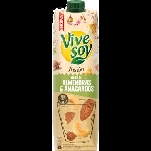 Напій горіховий мигдаль та кешью 1л ТМ Vive Soy