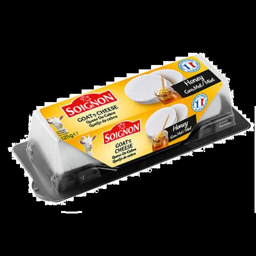 Сир Козиний з медом 125г TM Soignon
