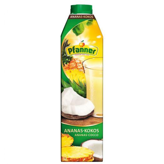 Напій ананас і кокос 25% 1л TM Pfanner