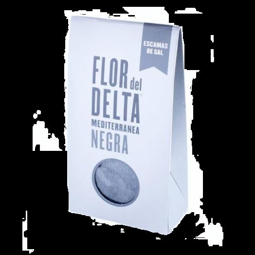 Сіль Гурме середземноморська  черна картонна упаковка 125г