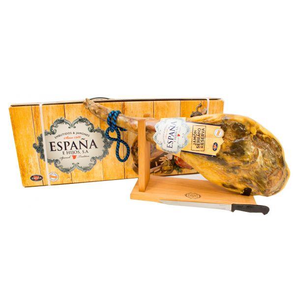 Хамон Серрано Резерва в подарунковій упаковці (14міс. витримки) 6-6,5кг ТМ Espana